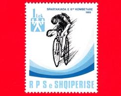 Nuovo - MNH - ALBANIA - Shqiperia - 1989 - Sport - 6° Spartachiadi Nazionale Albanese - Ciclismo - 1 - Albania