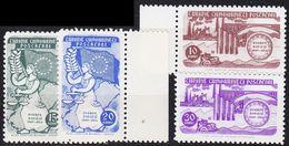 TÜRKEI TURKEY [1954] MiNr 1391-94 ( **/mnh ) CEPT - 1921-... République