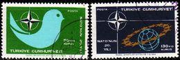 TÜRKEI TURKEY [1969] MiNr 2120-21 ( O/used ) NATO - 1921-... République