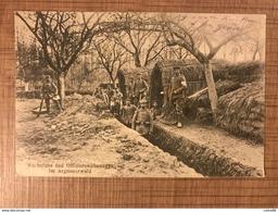 Wachstube Und Offizierswohnungen Im Argonnerwald - War 1914-18