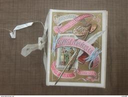 Calendrier Du Journal Des Demoiselles 1885 - Calendars
