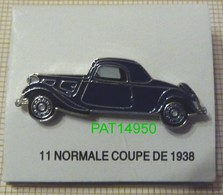 CITROEN TRACTION 11 NORMALE COUPE De 1938 - Citroën