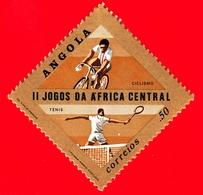 Nuovo - MNH - ANGOLA - 1981 - Sport - 2° Giochi Dell'Africa Centrale - Ciclismo - Tennis - 0.50 - Angola