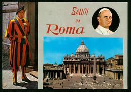 AK Italien, Rom |  Basilika Sankt Peter Im Vatikan, Petersdom, Papst Paul VI. - Churches