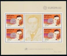 Portugal, 1983, 1601 Block 40, Europa: Große Werke Des Menschlichen Geistes.  MNH ** - Blocks & Sheetlets