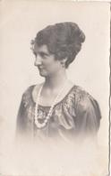 JUNGE FRAU, Porträt Fotokarte Um 1930 - Fotografie