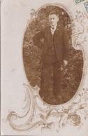 JUGER MANN, Fotokarte 1905 Gel.n.Obergrafendorf - Fotografie