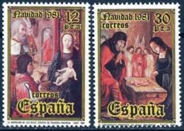España. Spain. 1981. Navidad. Christmas - 1981-90 Nuevos & Fijasellos