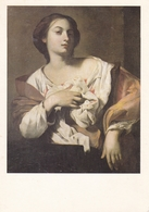 Francesco Guarino St Agatha Postcard Used Good Condition - Malerei & Gemälde