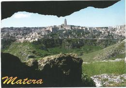 W2182 Matera - Panorama Da Murgia Timone / Non Viaggiata - Matera