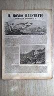 Il Mondo Illustrato N. 34 1847 Trento E Rovereto - L'industria Nelle Strade Ferrate - Cimitero Comunale Di Bologna - Ante 1900