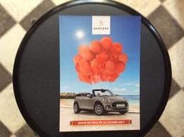PUBLICITÉ CASINO  Mini Cabriolet - Advertising