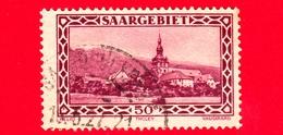 SARRE - SAARLAND - 1927 - Abbazia Di Tholey - Saargebiet - 50 - 1920-35 Società Delle Nazioni