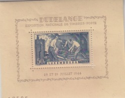 C Bloc-feuillet N°6 (Dudelange Expo Nationale) 28 Et 29 Juillet 1946 - Blocks & Sheetlets & Panes