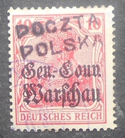 Poland 1918 Wloctawek Local Issue, Used - Usados
