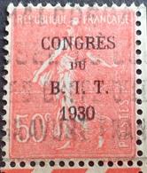 DF50500/527 - TYPE SEMEUSE - CONGRES DU B.I.T. - N°264 CdF ☉ - France