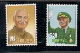 TAIWAN1966:Michel 618-9mnh** - 1945-... República De China