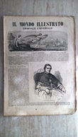Il Mondo Illustrato N. 38 1847 Cimitero Comunale Di Bologna - Strade Ferrate Italiane - Il Cardinale Gabriele Ferretti - Ante 1900