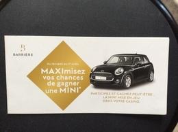 PUBLICITÉ CASINO  Mini Hatch 3 - Other