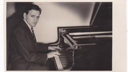 MUSICO MUSICIAN PIANO A IDENTIFIER PHOTO CONCERTOS DANIEL. CIRCA 1950s SIZE 14.5x8.5cm - BLEUP - Foto
