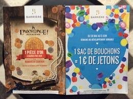 PUBLICITÉS CASINO - Advertising