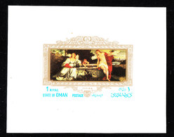 Oman   -  1972.  Quadro Tiziano: Amor Sacro, Amor Profano. Tiziano Framework: Sacred Love, Profane Love. MNH - Arte