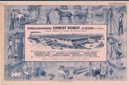 BU 1647 /  BUVARD  ETABLISSEMENTS ERNEST RONOT ST DIZIER - Farm