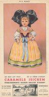BU 1646 /  BUVARD   CARAMEIS ISICREM  GALLIOI D'ISIGNY - Cake & Candy
