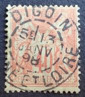 DF50500/539 - SAGE TYPE II N°94 - SUPERBE +++ CàD : DIGOIN (Saône Et Loire) 13 JANVIER 1898 - 1876-1898 Sage (Tipo II)