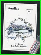 AURILLAC 27 Septembre 1992 9éme Salon Des Collectionneurs - Aurillac