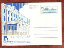 P 160 Rathaus Helsinki, Ungebraucht (71451) - Entiers Postaux