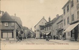 HERICOURT Grande Rue.Entrée De La Ville - Francia