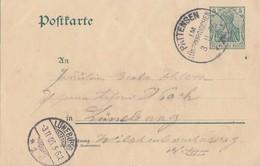 DR Ganzsache K1 Pattensen Im Lünebuirgischen 3.11.06 - Deutschland