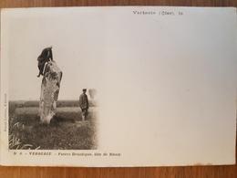 Verberie.pierre Druidique Dite De Rhuis.menhir - Verberie
