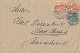 DR Brief Mif Minr.99, Zdr. Minr.W5 Bad Sachsa 19.4.20 - Briefe U. Dokumente