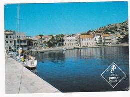 "Yougoslavie Hôtel ""PUNTA"" Igrane  Vue Panoramique (CNPO)  BE - Yougoslavie"
