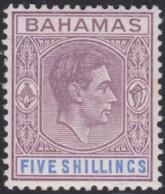 Bahamas     .   SG  .     156  ( 2 Scans )      .    *  .     Mint-hinged    .   /    .   Ongebruikt - 1859-1963 Colonie Britannique