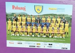 CARTOLINA/POSTCARD SQUADRA/TEAM/EQUIPE CHIEVO VERONA 2004/05, FORMATO/SIZE ~15X21 CM - Calcio