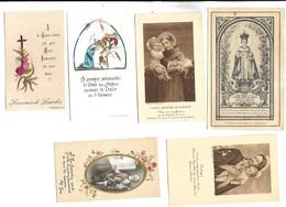 LOT DE 30 IMAGES RELIGIEUSES - Images Religieuses