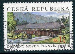 Y85 CZECH REPUBLIC 1999 219 Wooden Bridge Over The Svratka River. Architecture - Ponts
