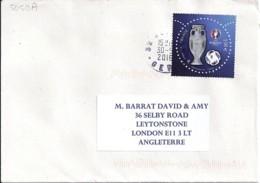 TP N° 5050A SUR LETTRE DE 2016   RARE - Postmark Collection (Covers)