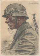 DR Propagandakarte Kradmelder Frankenstein (Schles.) 29.11.40 - Deutschland