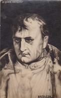 LE GRAND VAINQUEUR. NAPOLEON 1°. CARD VOYAGEE CIRCA 1924 - BLEUP - Historische Figuren