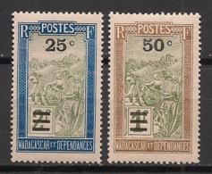 Madagascar - 1932 - N°Yv. 188 à 189 - Série Complète - Neuf Luxe ** / MNH / Postfrisch - Madagascar (1889-1960)