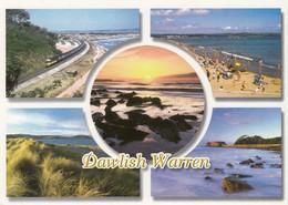 Postcard Dawlish Warren Devon Multiview  [ John Hinde ] My Ref  B23494 - England