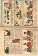 La Semaine De Susette N° 1 De 1948 Les Petits Ennuis De Bécassine (3 Pages) Bonne Table Au Temps Jadis - Non Classés