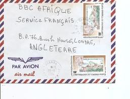 Cote D'Ivoire ( Lettre Par Avion De 1994 De Dianra Vers La Grande-Bretagne à Voir) - Ivory Coast (1960-...)