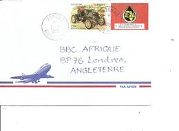 Bénin ( Lettre Par Avion De 1999 De Athieme Vers La Grande-Bretagne à Voir) - Benin - Dahomey (1960-...)