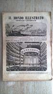 Il Mondo Illustrato N. 47 1847 Teatro Di Genova Inaugurazione Monumento A Giuseppe Cottolengo - Porto Maurizio - Ante 1900