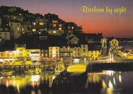 Postcard Brixham By Night Devon   [ Europa Cards ] My Ref  B23497 - England